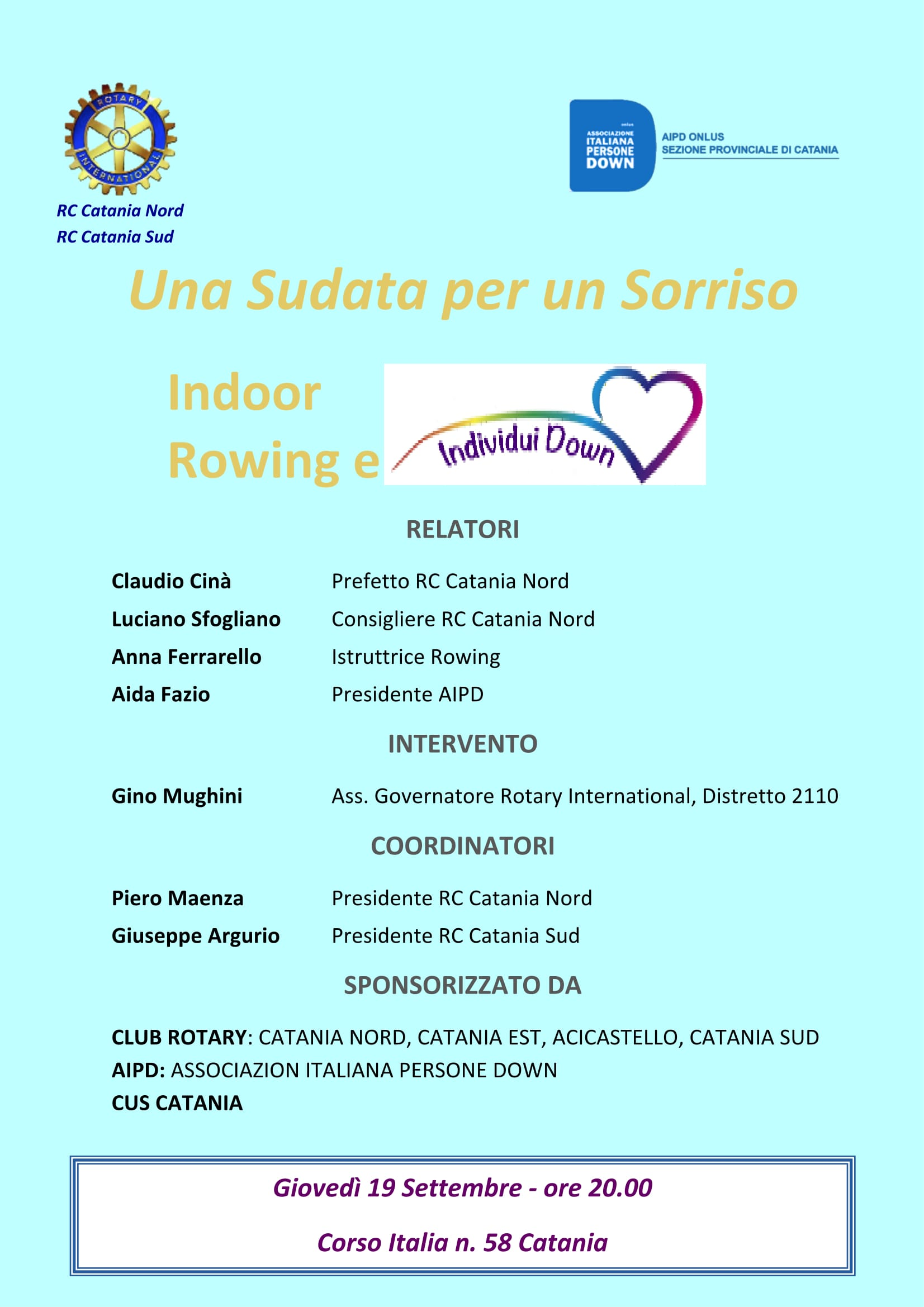 2013 09 16 locandina Indoor Rowing